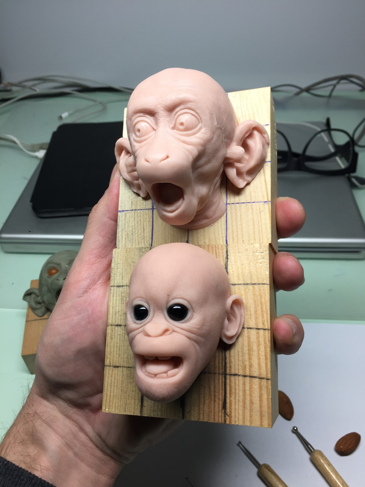 Monkeys super sculpy