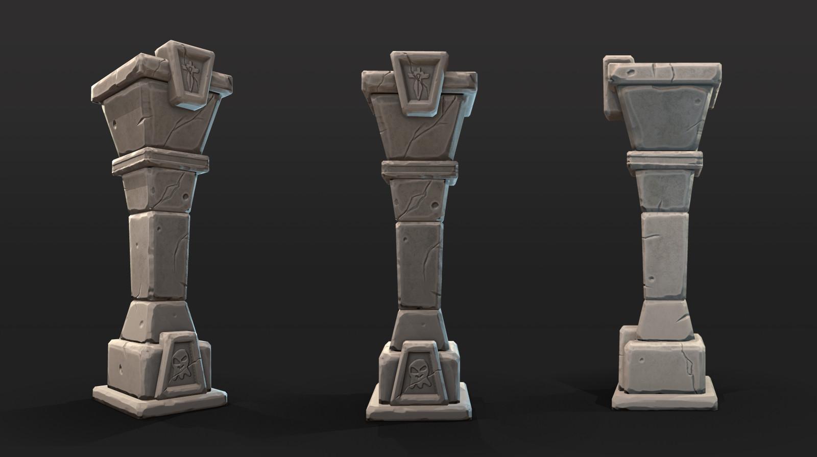 Stylized Pillar