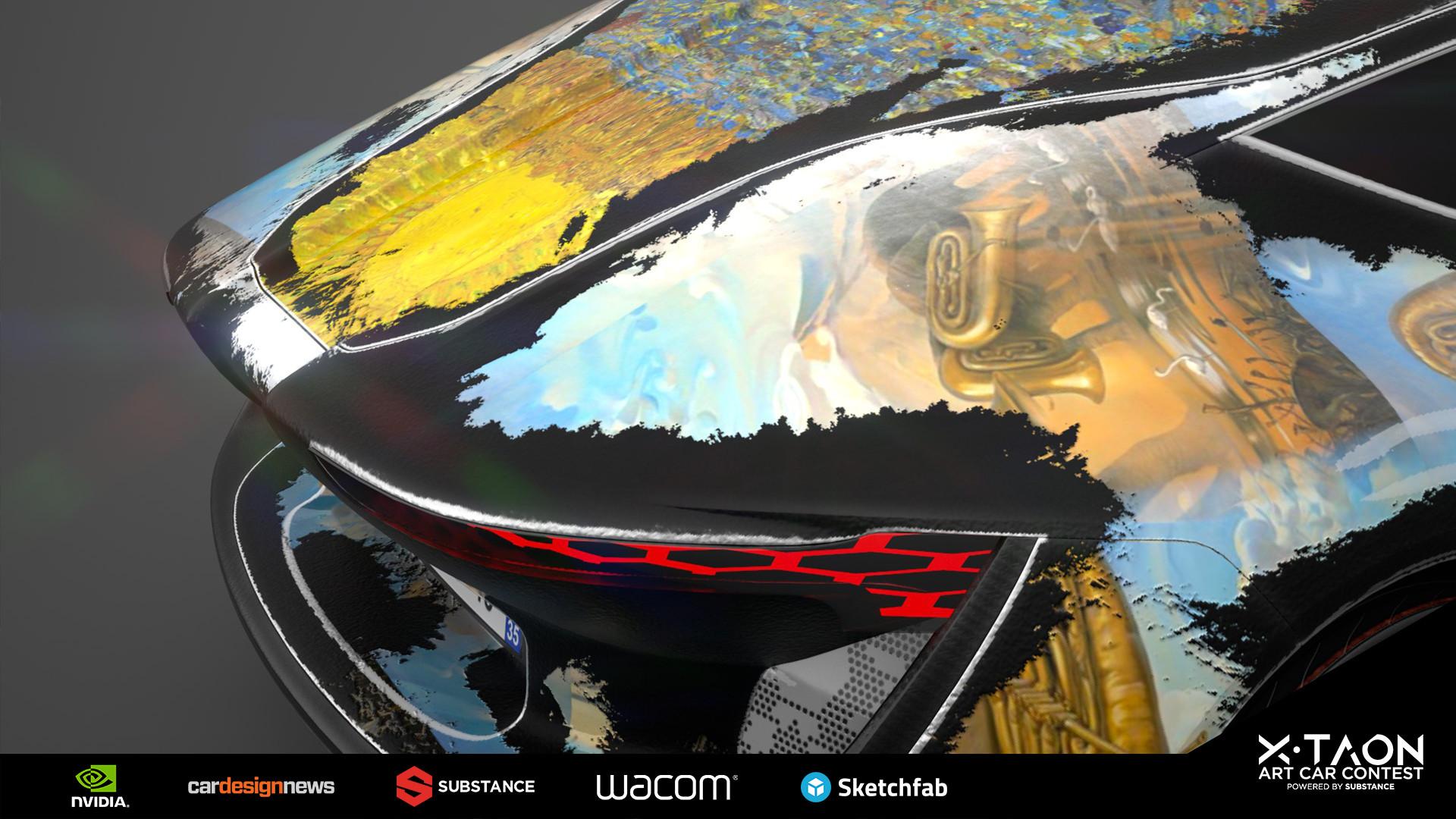 Van Gogh & Dalí