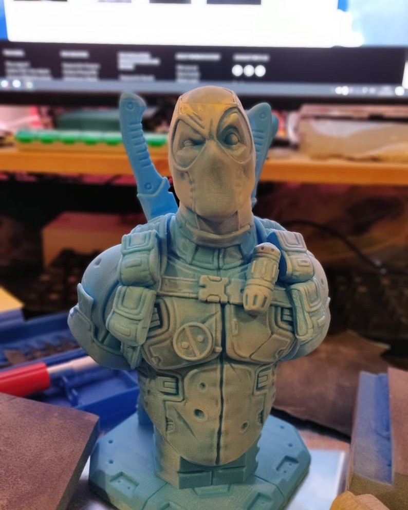 David ostman deadpool bust v2 printed