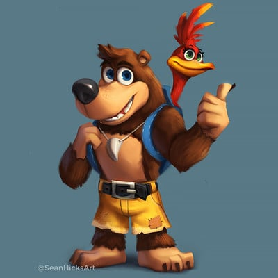 Sean hicks shicks banjokazooie redesign