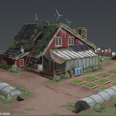 Bulletproof eggs farm