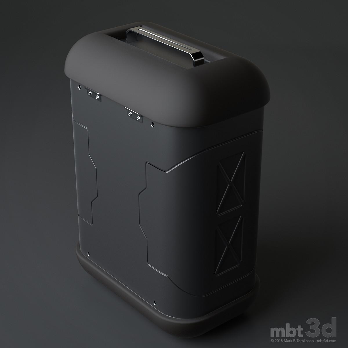 Munchbox: Rear 3/4