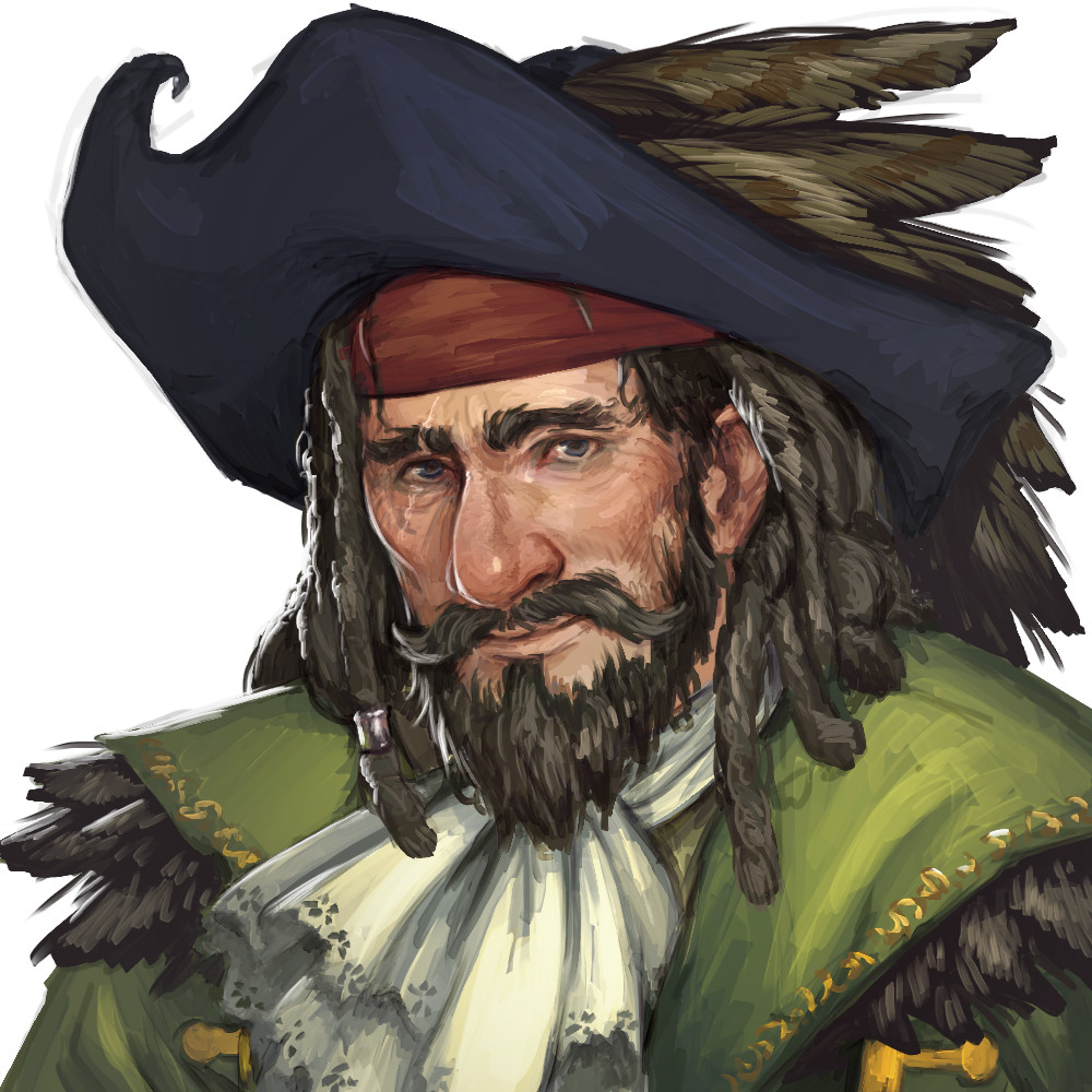 Pirate Governor, made for the pirate faction questline.