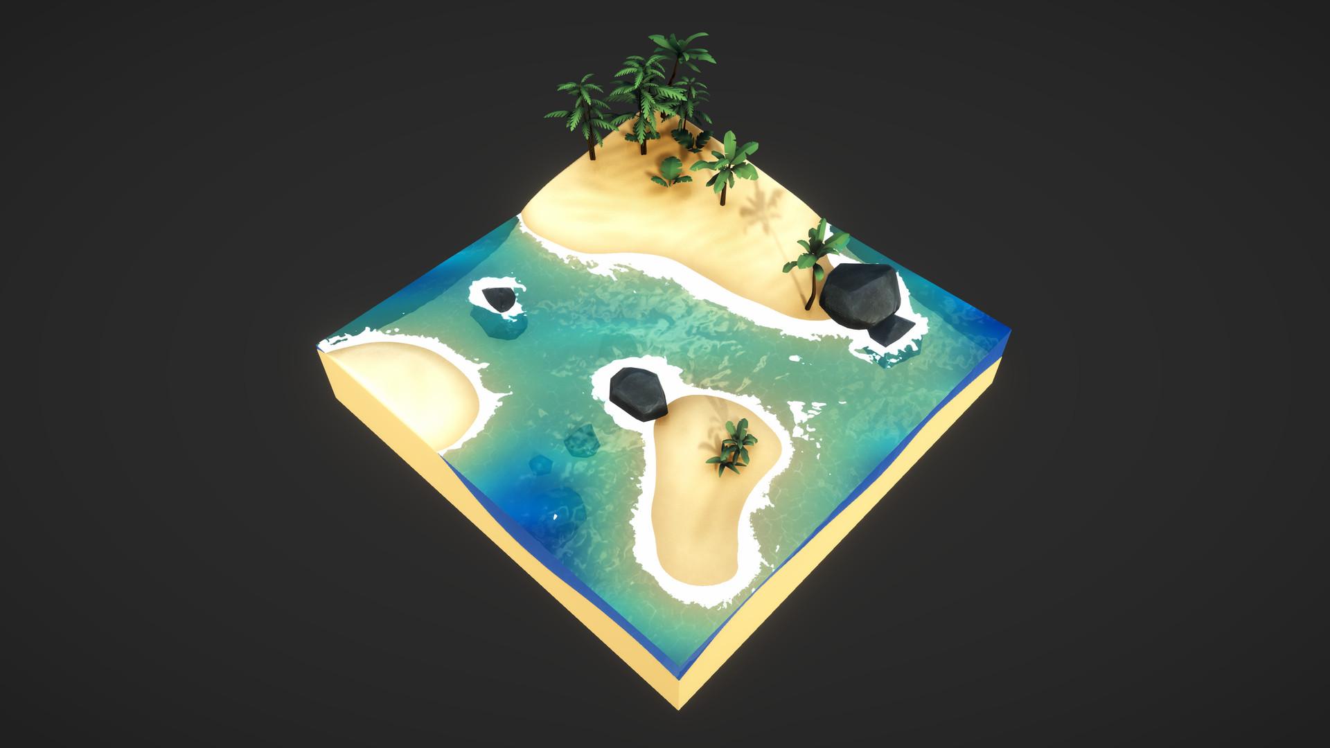 ArtStation - Unity - Stylized Water Shader, Gabriel Dagostin