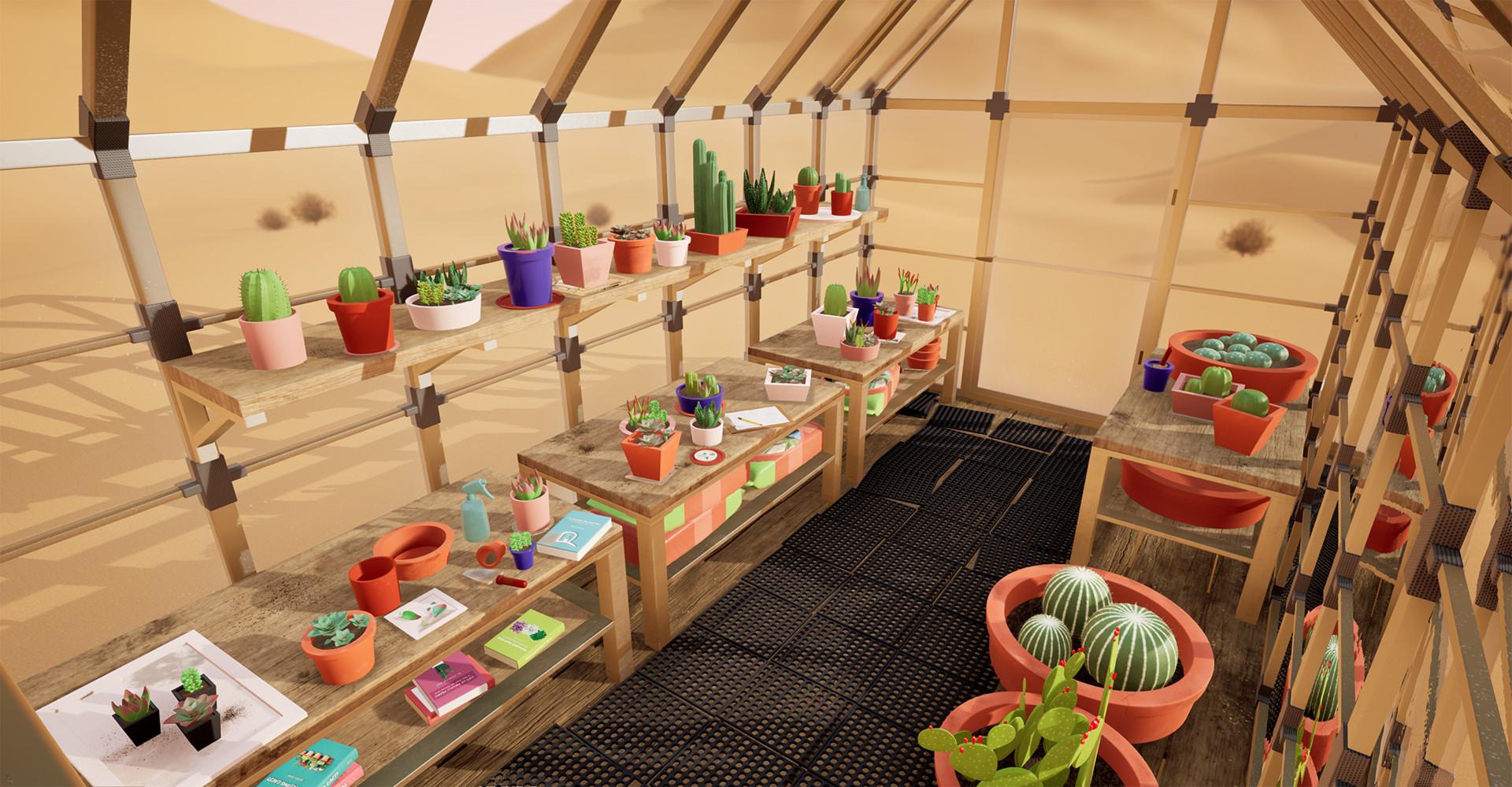 Miraculous Artstation Desert Greenhouse Shannon Ramirez Home Interior And Landscaping Oversignezvosmurscom