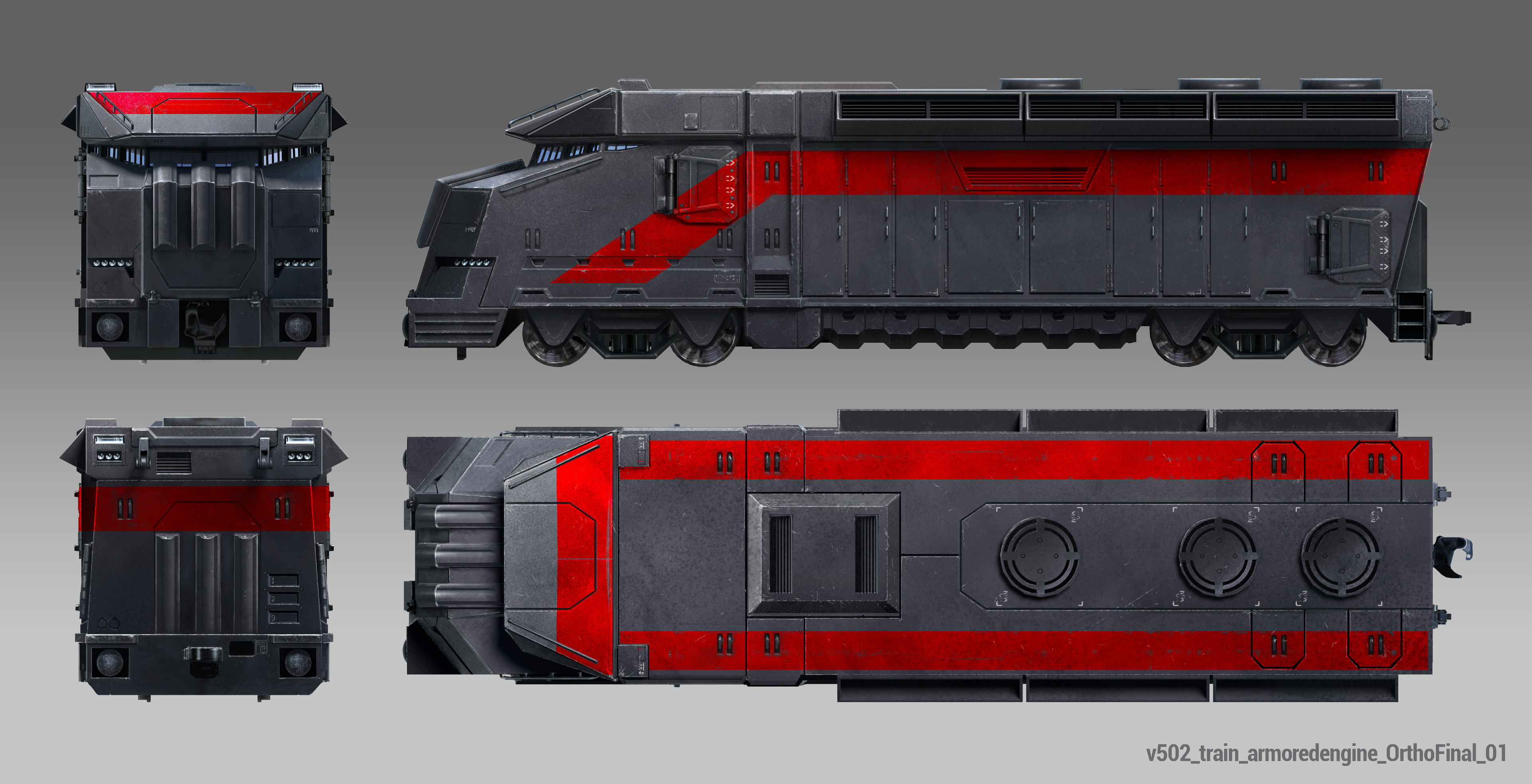 Armored Train Ortho