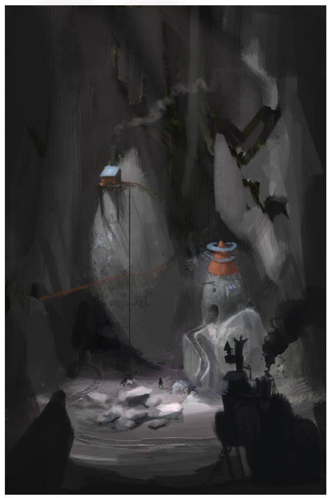 Tim holleyman tim holleyman mine interior