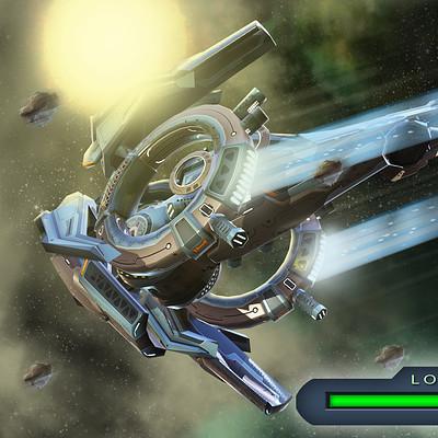 Igor puskaric l3 ship in space 2 loading
