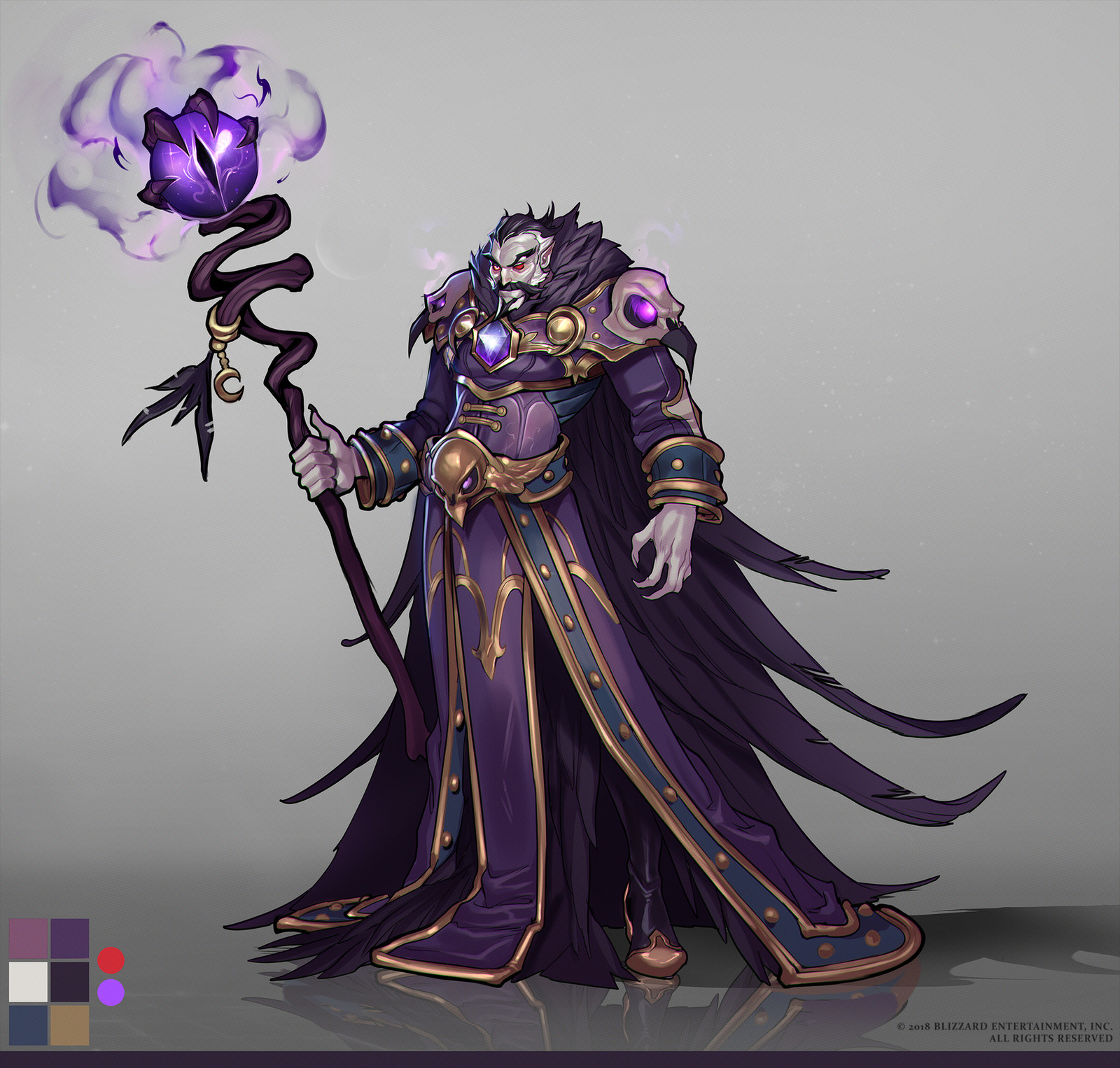 Raven Lord Concept Art