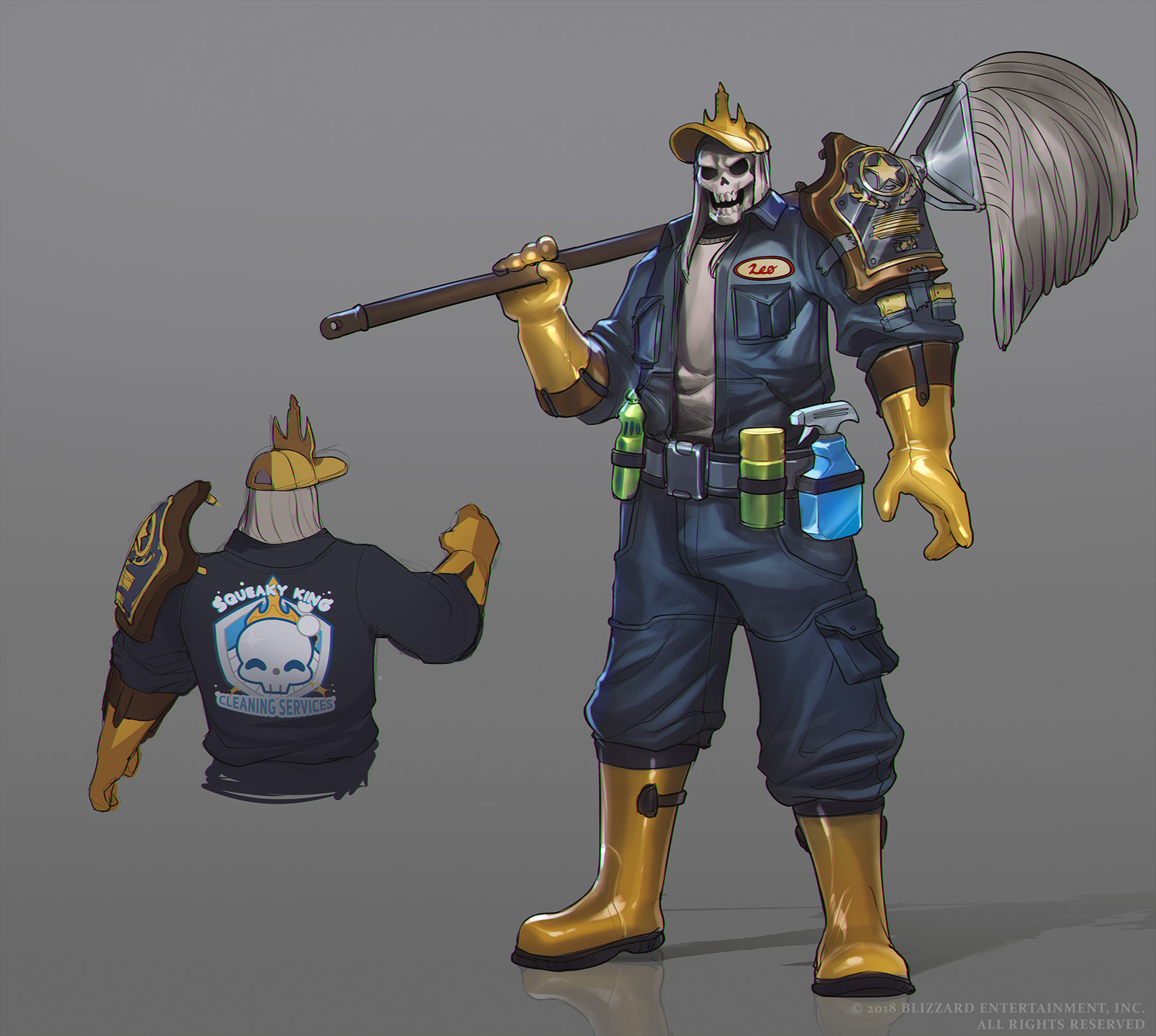 Janitor Leoric Concept