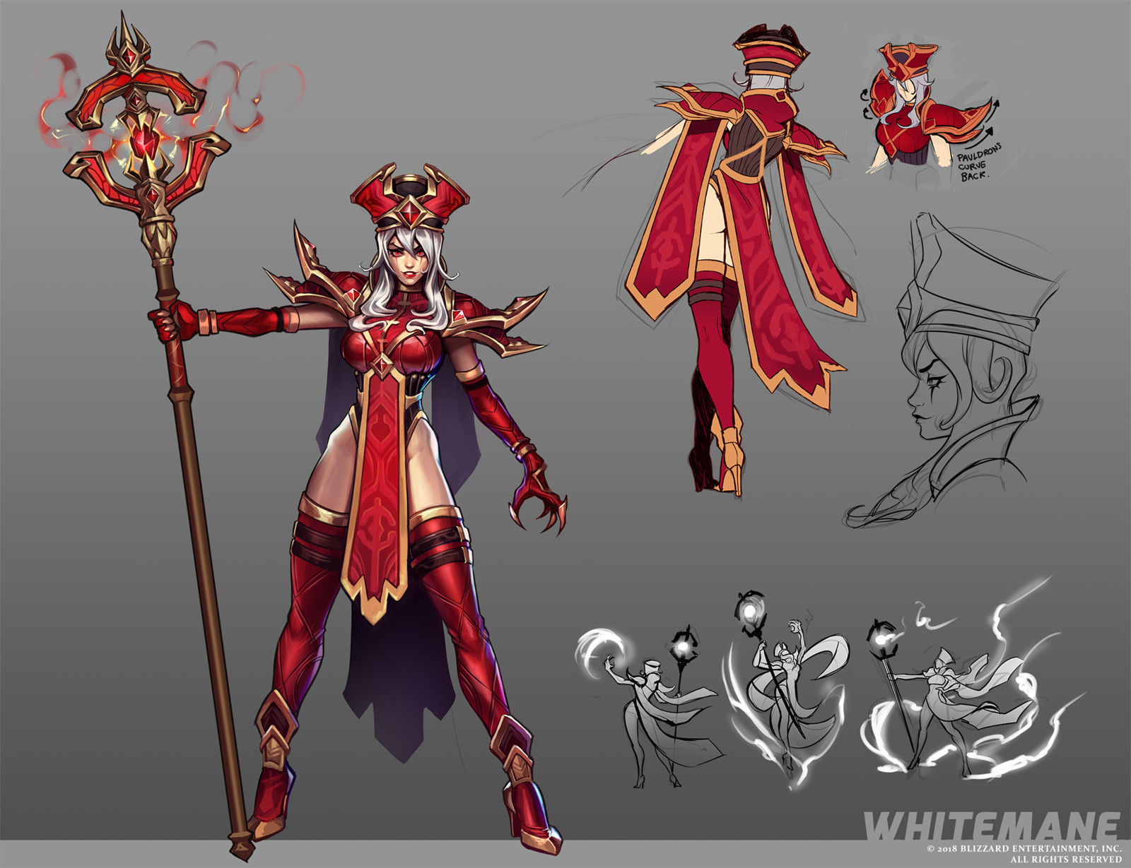 Whitemane Concept Art