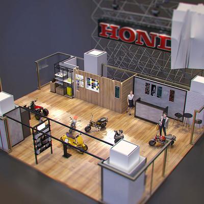 Ying te lien museum scale model 01