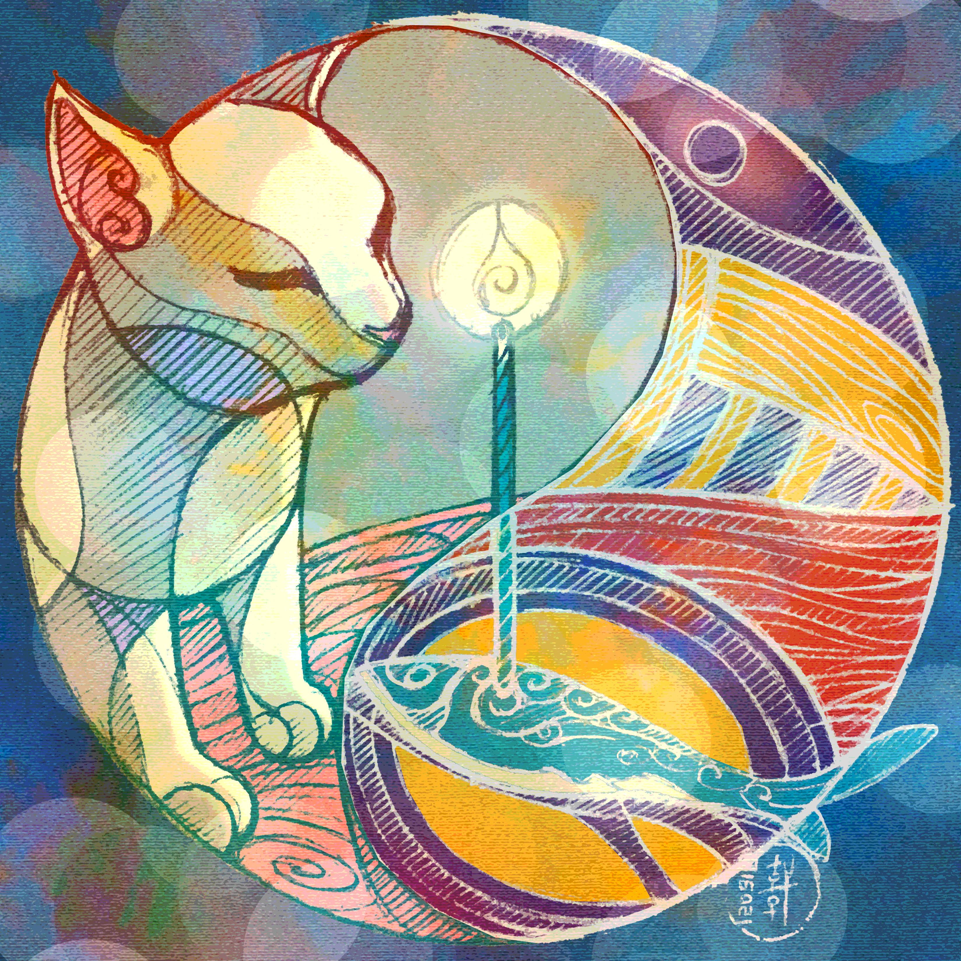 Day 12-09-18 - Birthday Cat