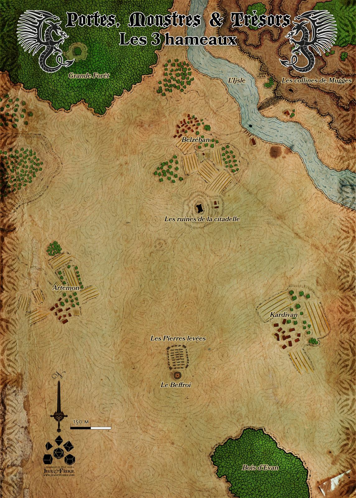 Les trois hameaux