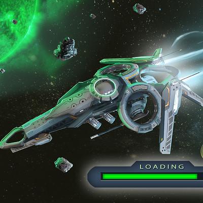 Igor puskaric ls 2 ship in space loading version
