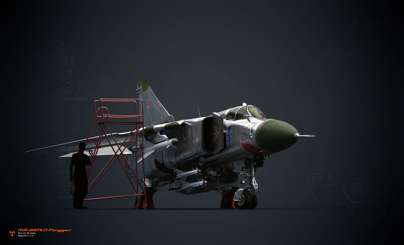 Mig-23 was one of the most advanced fighters of its time.