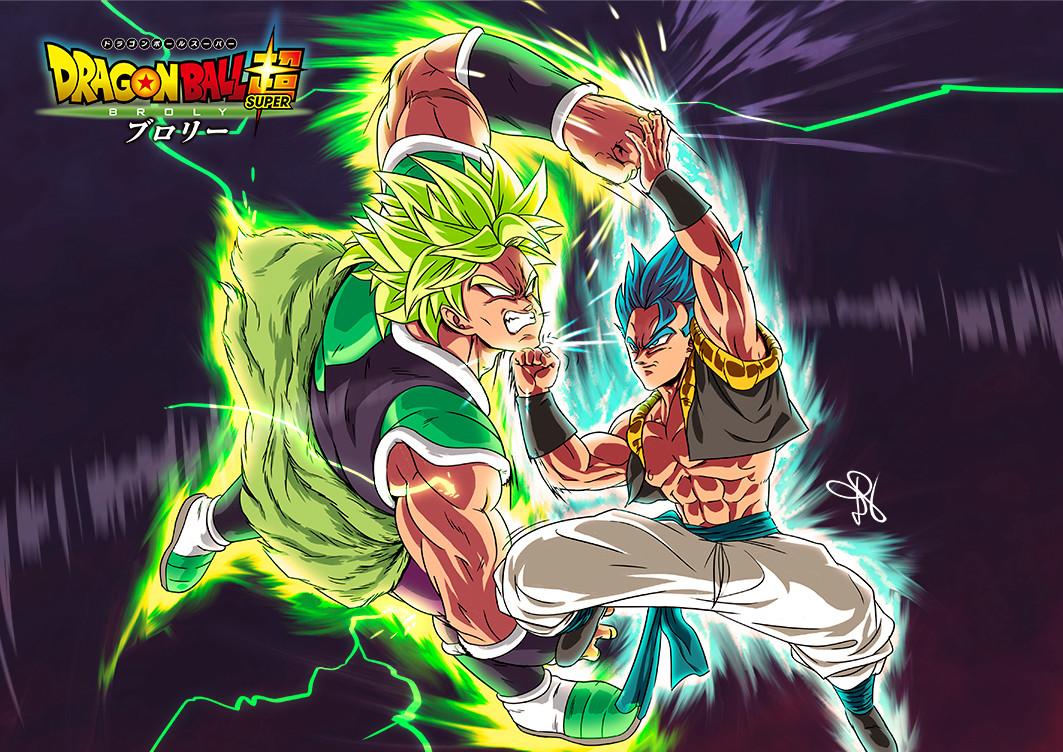 Artstation Dragon Ball Super Broly Broly Vs Gogeta Sayak Das