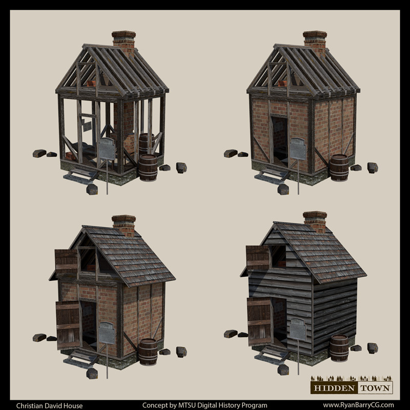 Hidden Town 3D: Christian David House