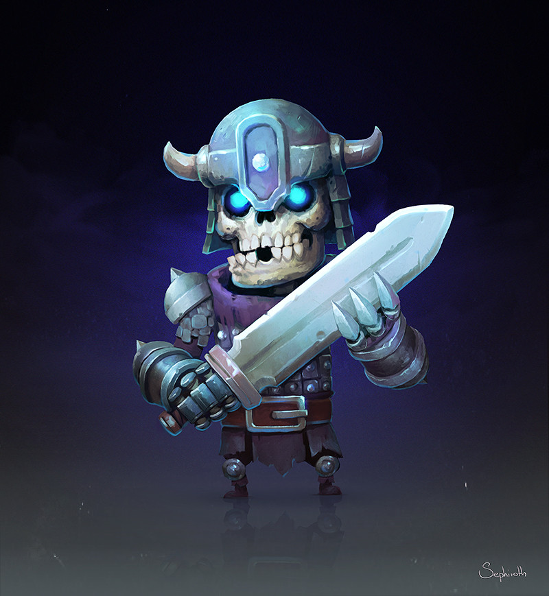 Skeleton Swordsman