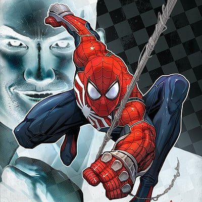 David nakayama spiderman mrnegative 1000v