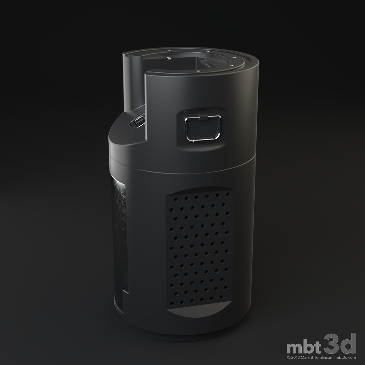Sci-Fi Canister: Side