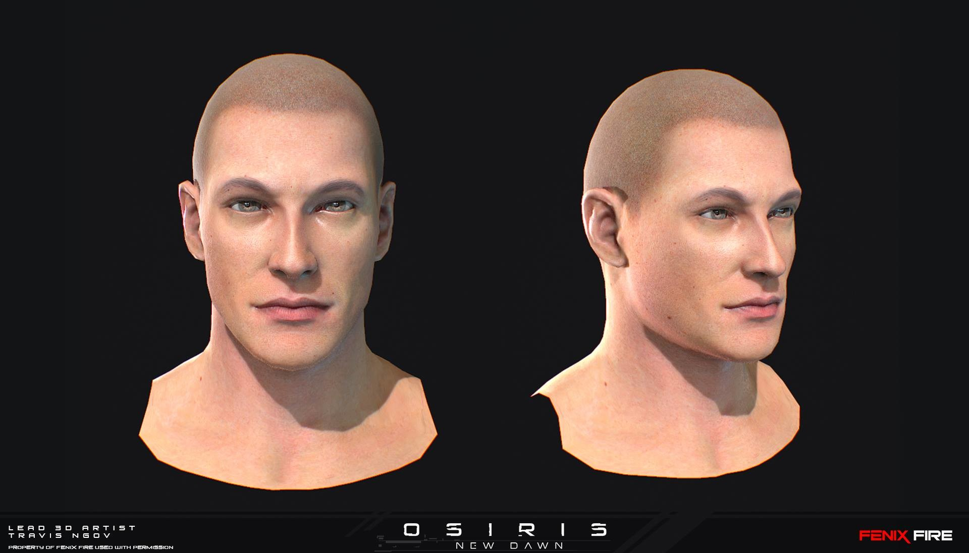NPC Head update (Sculpt, Texture)