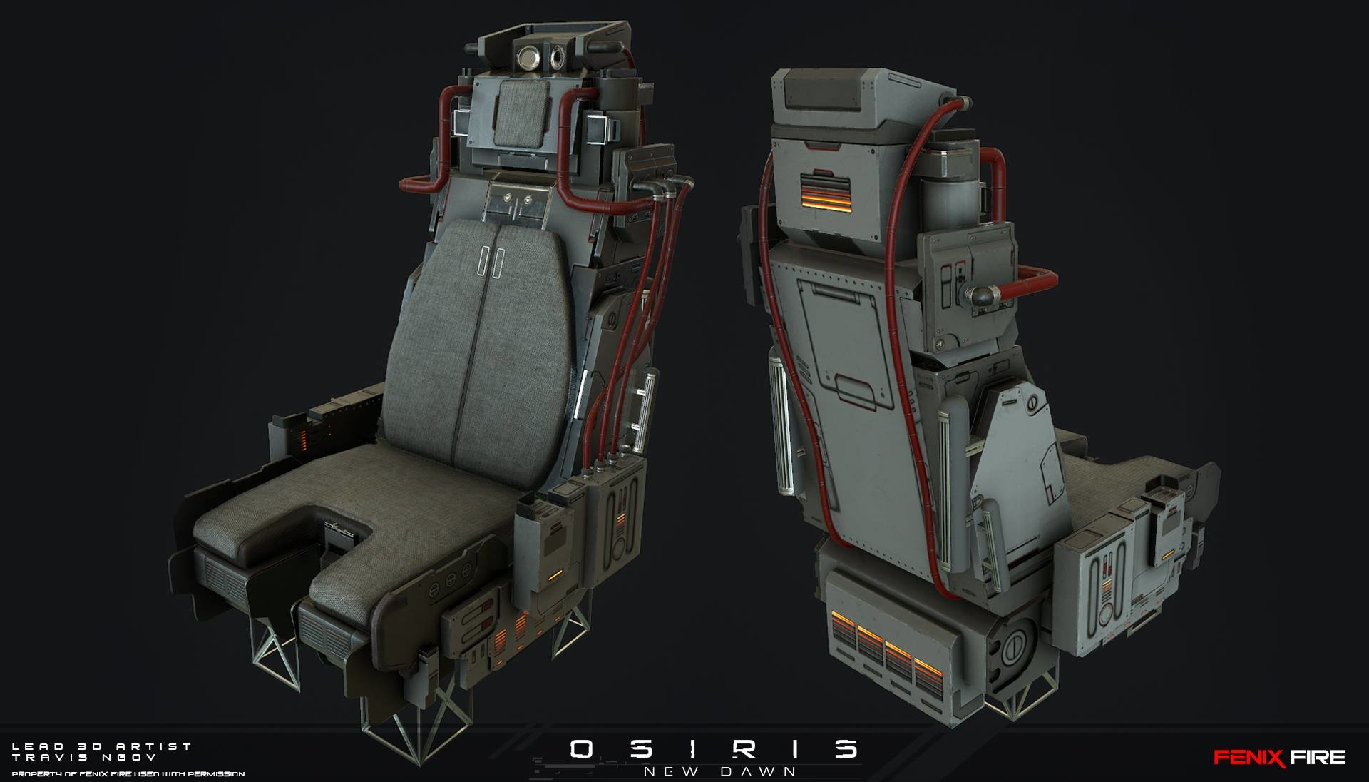 Vehicle Seat (Texturing)