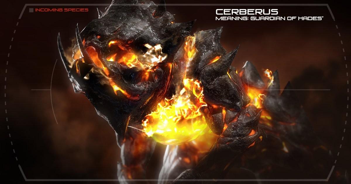 Cerberus Creature (Model, Texture, & Rig)