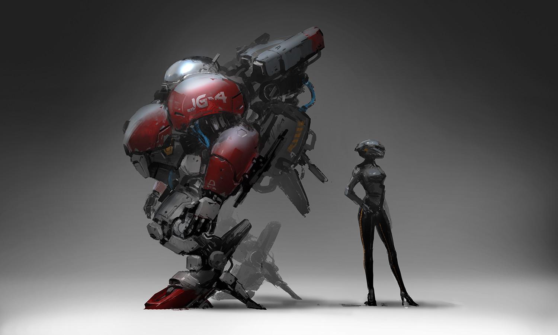 J c park robot concept process