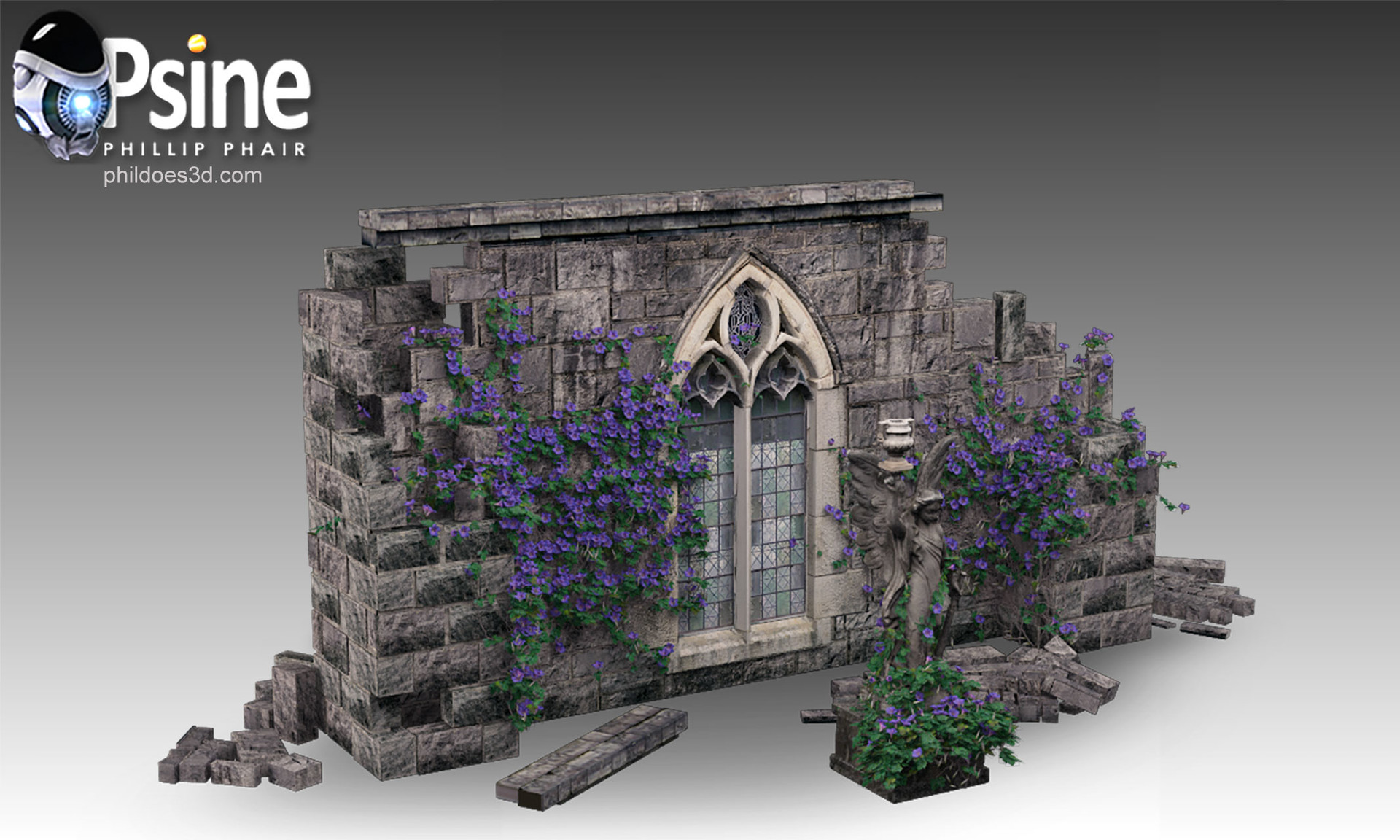 Angelic Ruin Model
