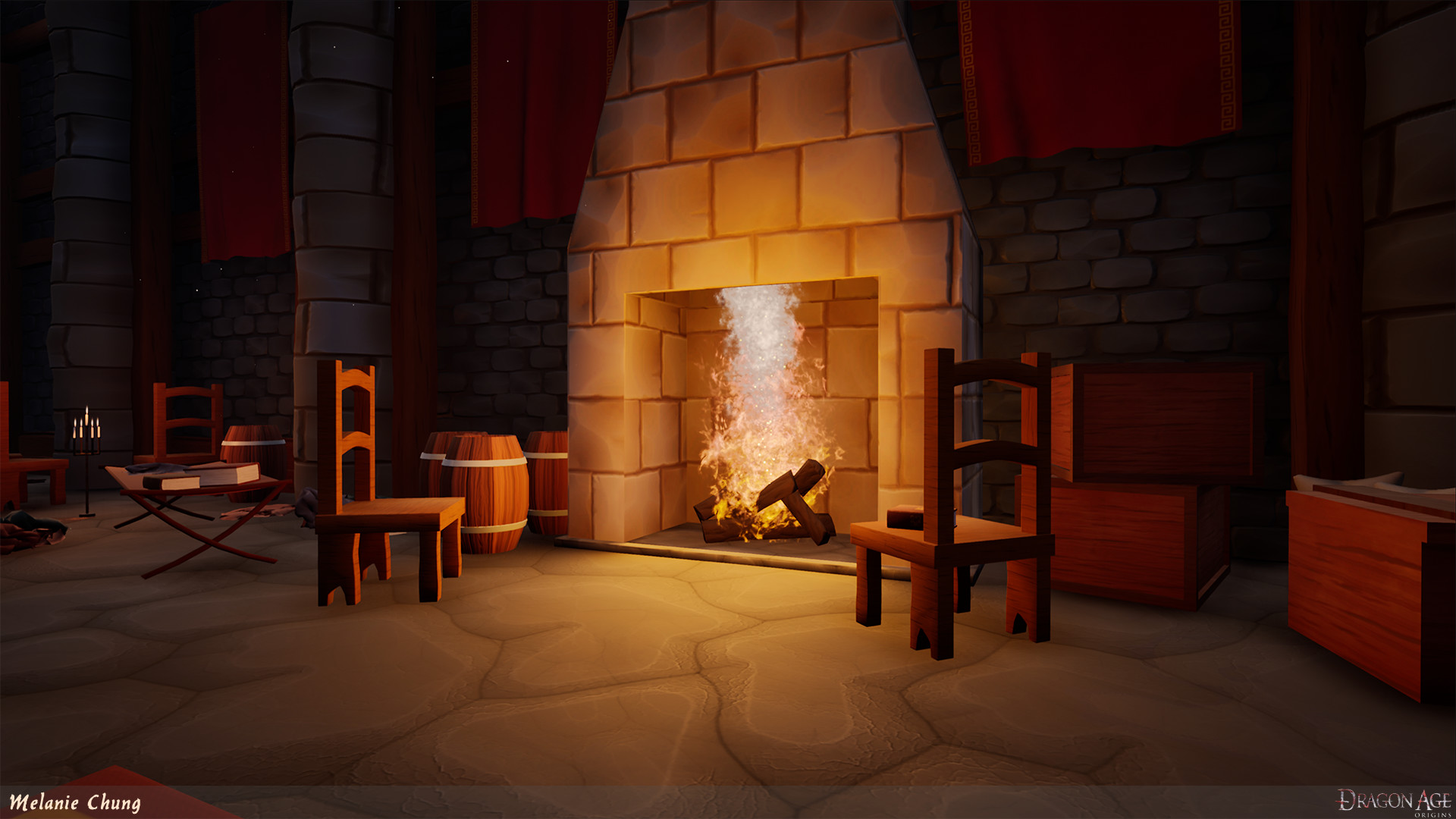 ArtStation - Dragon Age:Origins Redcliffe Chantry Stylized Remake