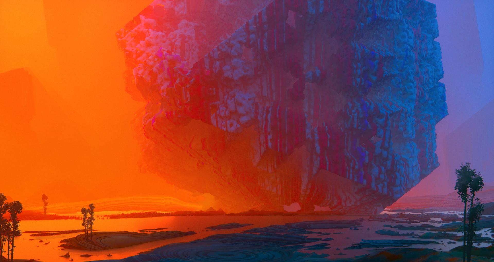 Leon tukker redblue fractal1