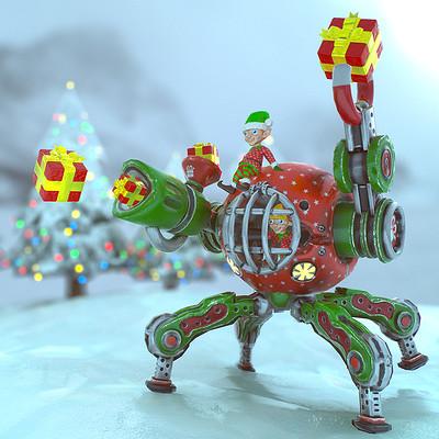 Adria bancells christmas present shooter