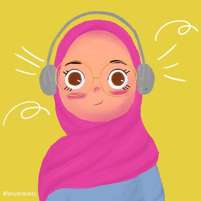 Lamya sharaby self portrait