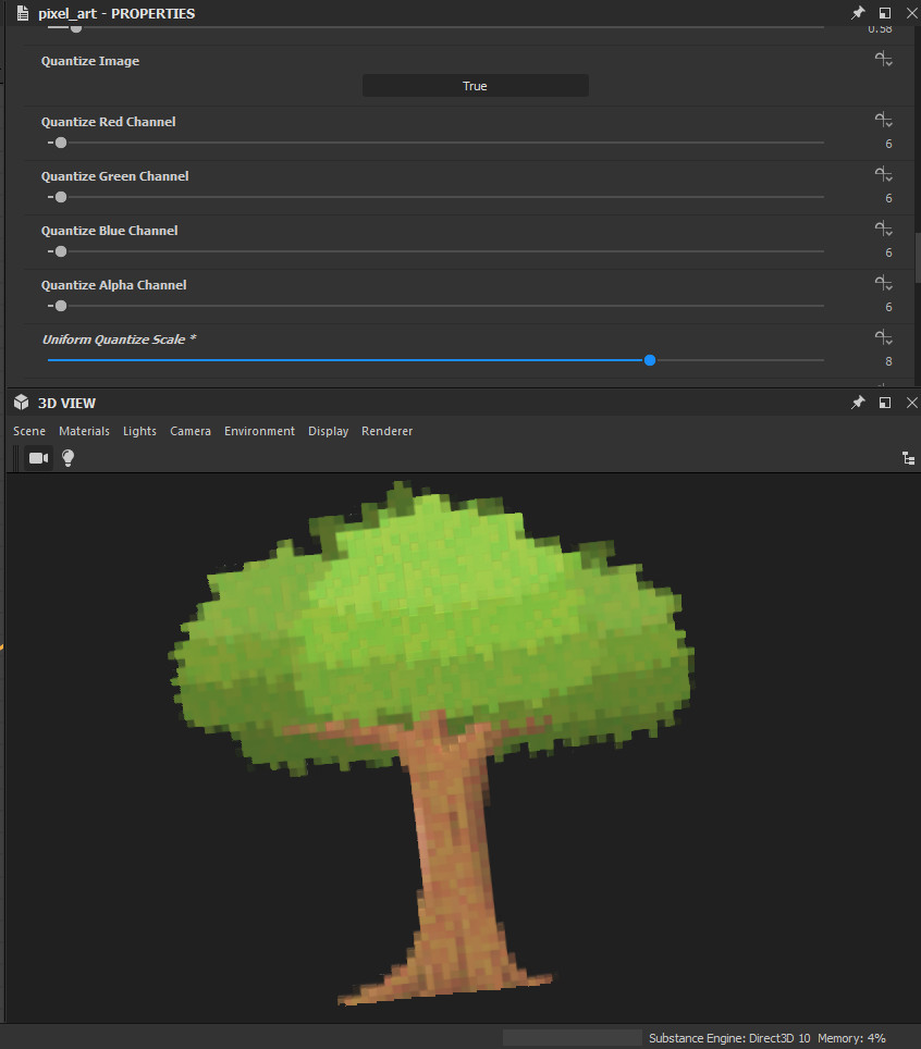 ArtStation - Pixel Art Generator for Substance Designer