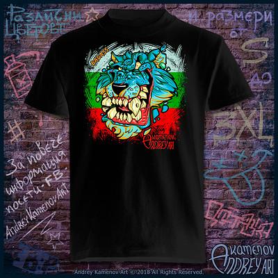 Andrey kamenov badass wolf t shirt bg 01