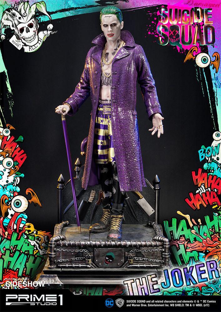 Alvaro ribeiro dc comics suicide squx the joker statue prime1 studio 903021 03