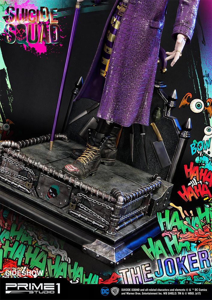 Alvaro ribeiro dc comics suicide squx the joker statue prime1 studio 903021 08