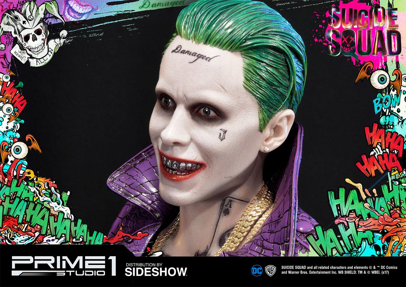 Alvaro ribeiro dc comics suicide squx the joker statue prime1 studio 903021 23