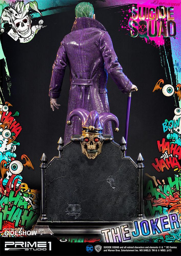 Alvaro ribeiro dc comics suicide squx the joker statue prime1 studio 903021 12