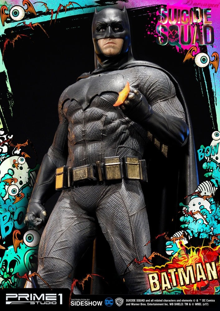 Alvaro ribeiro dc comics suicide squx batman statue prime1 studio 903048 07