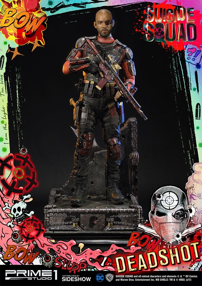Alvaro ribeiro dc comics suicide squx deadshot statue prime1 902962 02