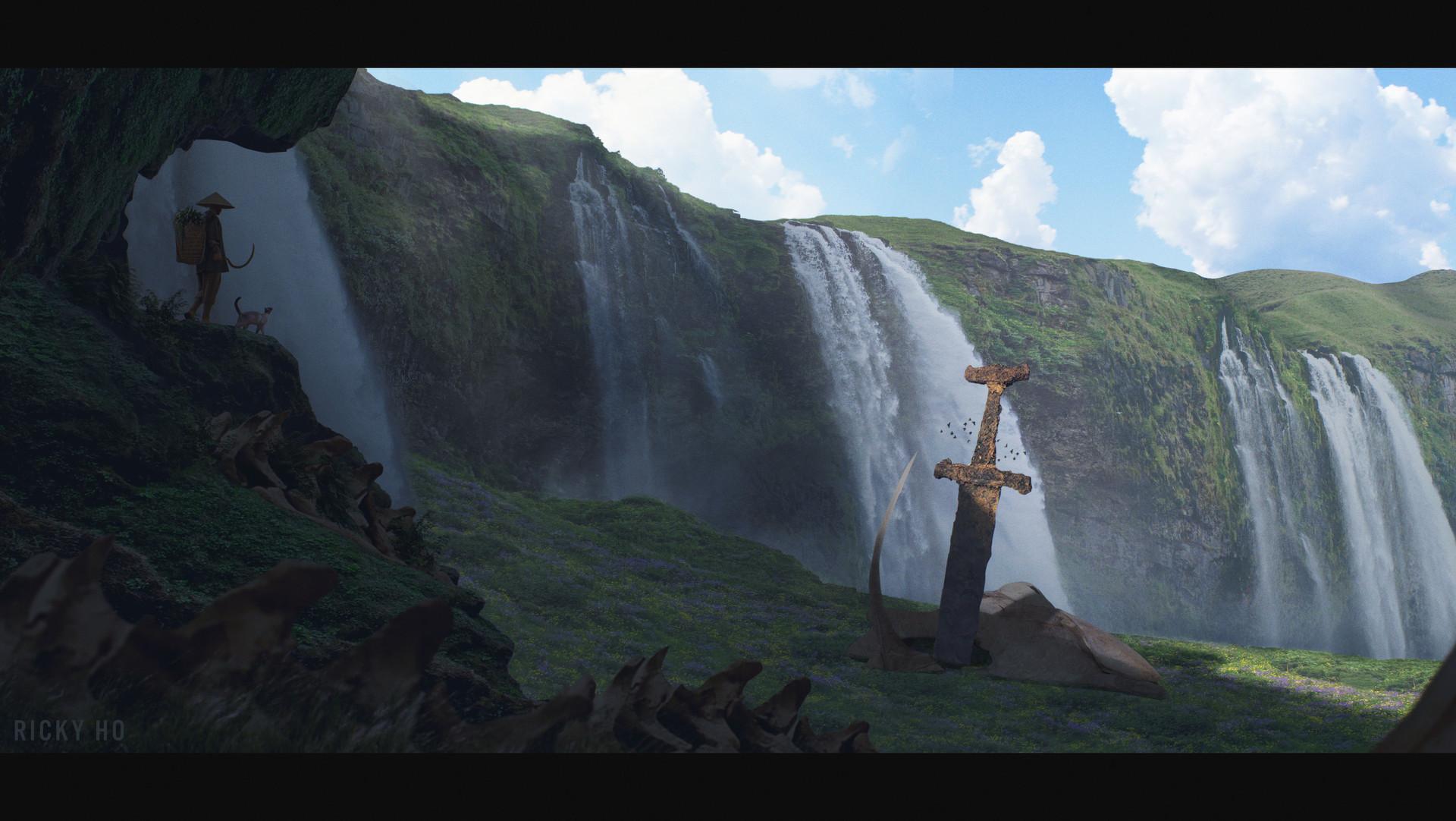 Ricky ho waterfall