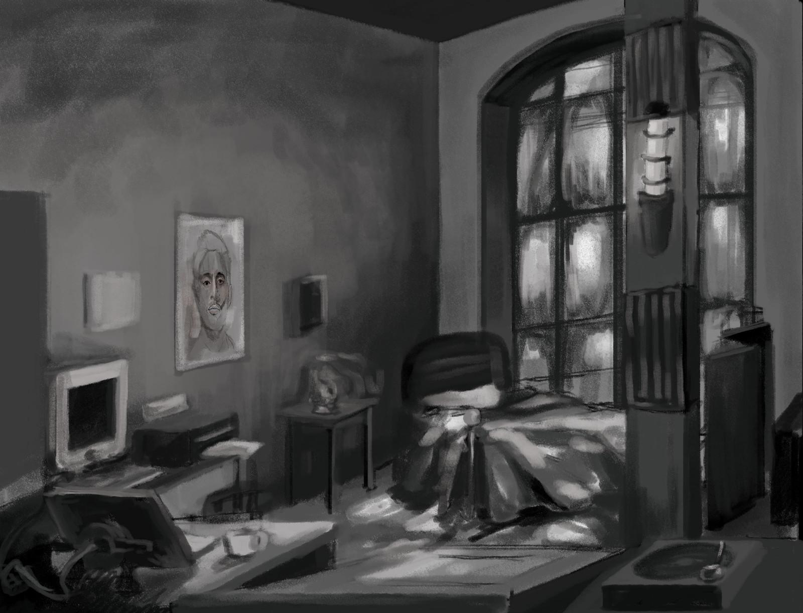 Animator's Room Concept