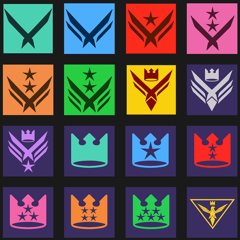 Twitch.tv Bit Badge Designs