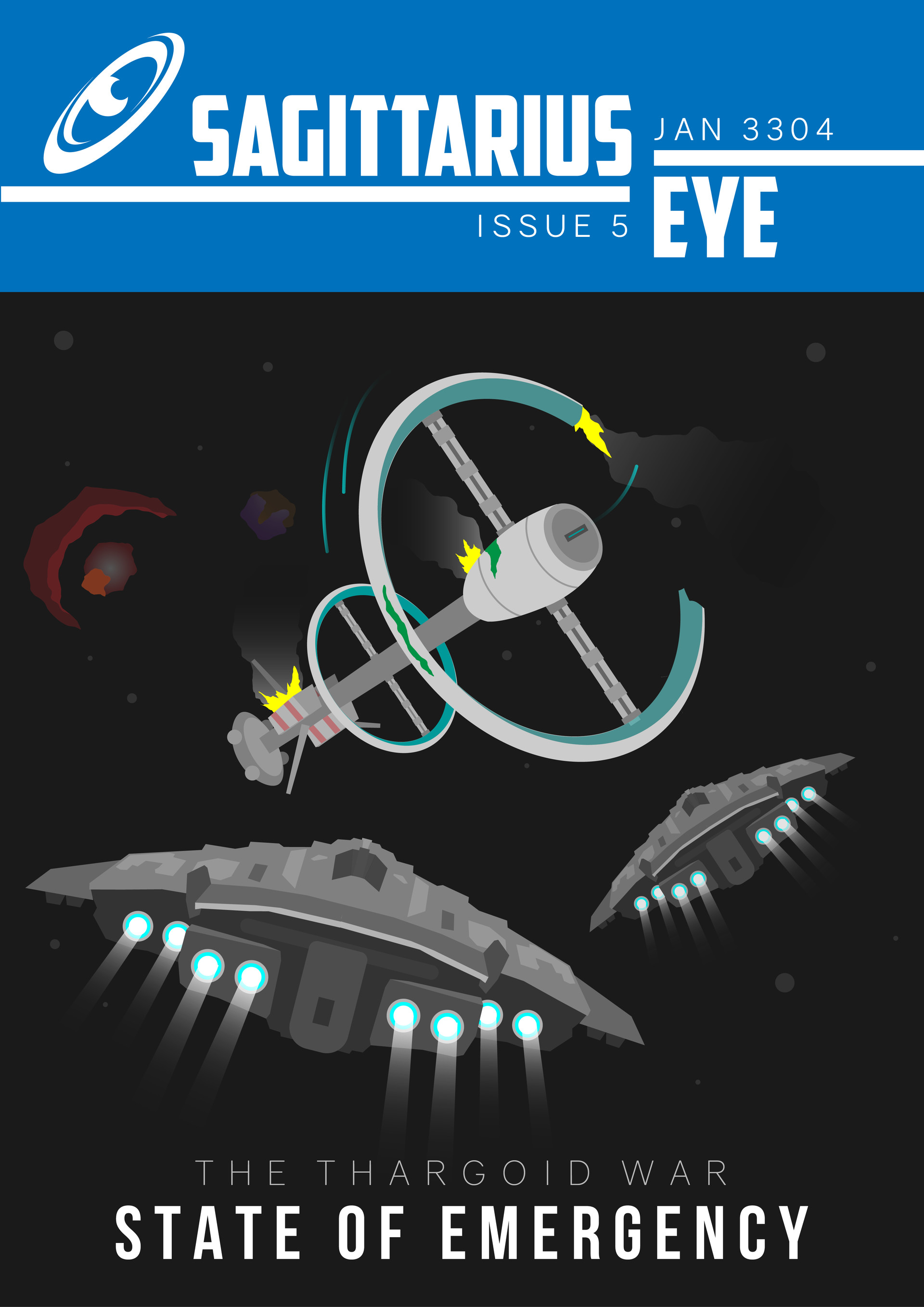 Mathew maddison sagittarius eye issue covers 01