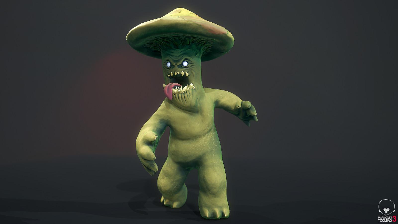 Mushroom Man: beauty shot