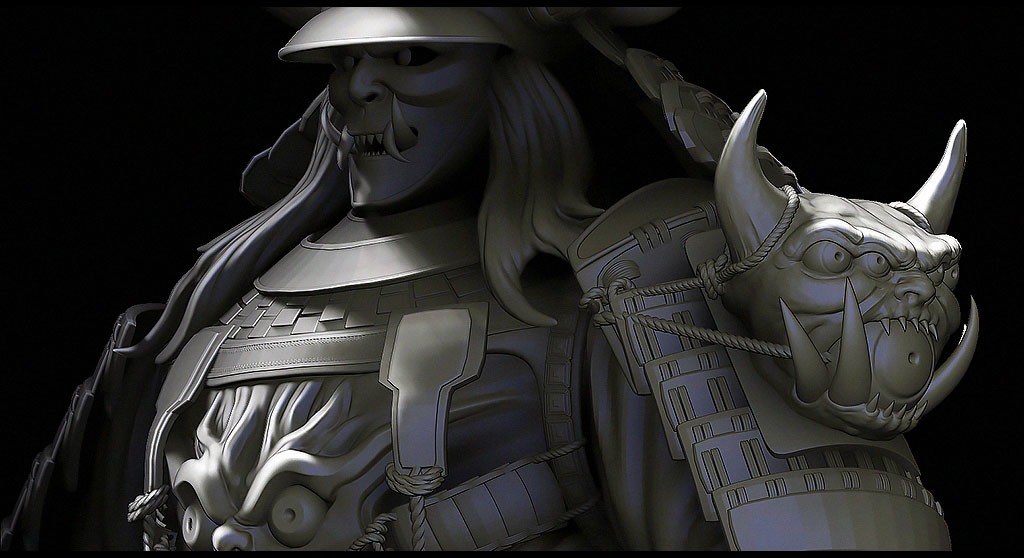 Julien laurans artstation samourai challenges julien laurans wip024