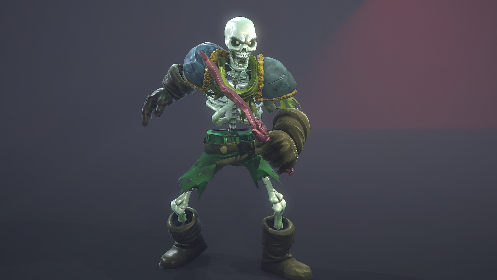 Skeleton: beauty shot